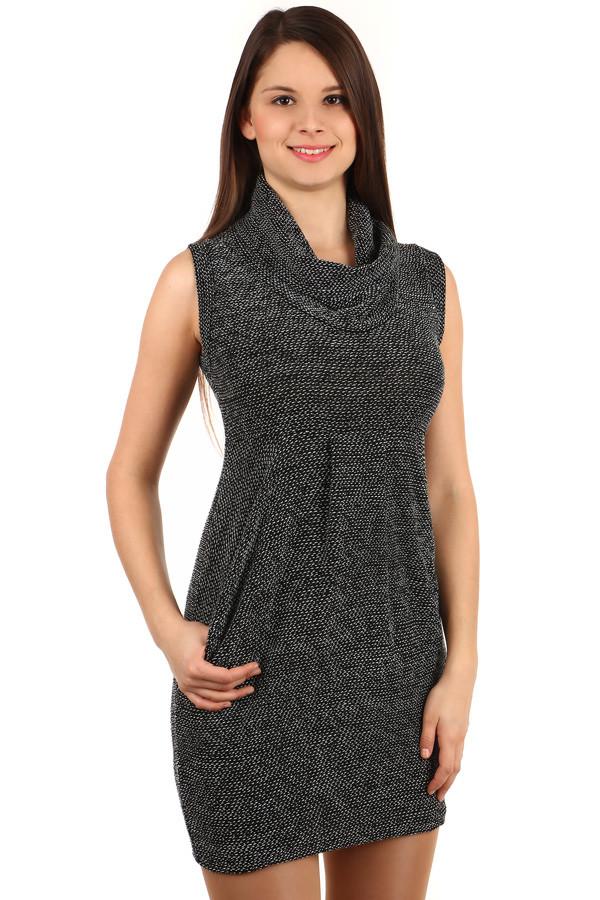 Dámské úpletové šaty s kapsami acad3c79b1