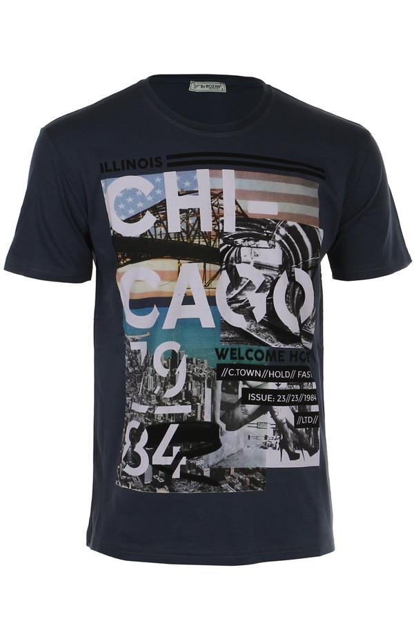 188c147c526 Pánské tričko s potiskem a krátkým rukávem