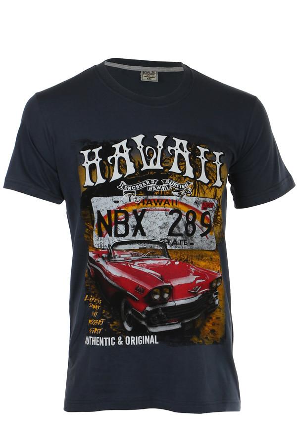 Pánské tričko s barevným potiskem a98a1be1fc