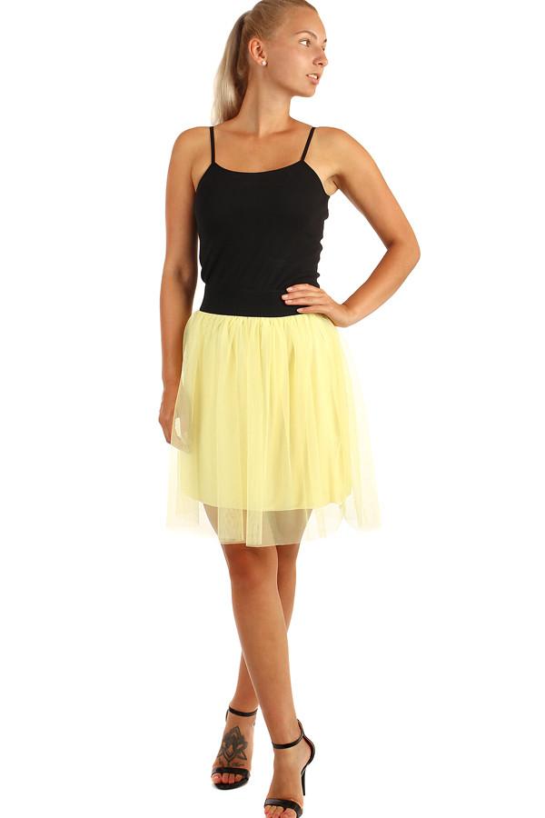 9d9e0b8c22fa Krátká dámská tylová sukně