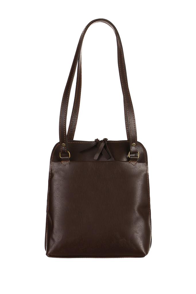 9f80250278 Batoh kabelka 2v1 z pravé kůže - Česká výroba