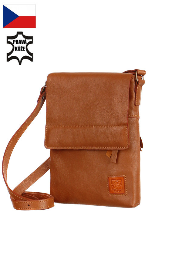 29be6c5a7f6 Malá kožená kabelka přes rameno - Česká výroba