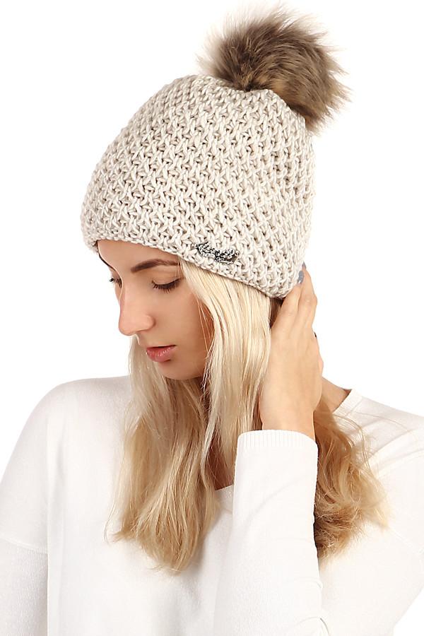 Dámská pletená čepice b2c47baa8a