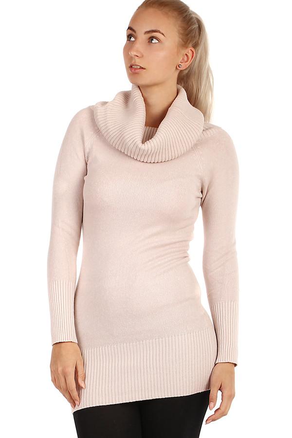 9765b05c50a Dlouhý svetr s rolákem
