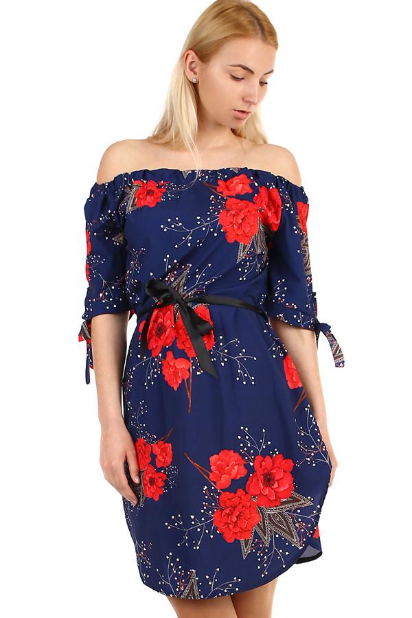Volné plážové dámské šaty bez ramínek d736868be1