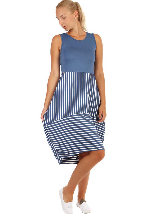 f204b2d40e5c Dámské plážové šaty s balonovou sukní