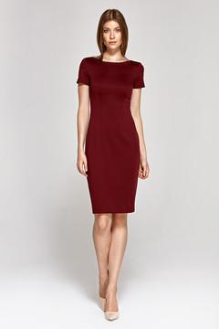 Exkluzivní šaty s krajkou a kamínkovou ozdobou 445 Kč · Pouzdrové šaty s  krátkým rukávem 1242d726435