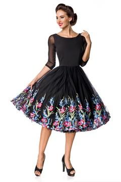 Společenské šaty s vyšívanou sukní 3855 Kč 3bdff93750