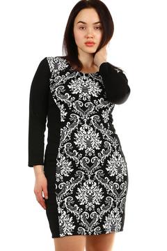 7cbbe4c6a548 Vzorované dámské šaty s rukávem 965 Kč 699 Kč