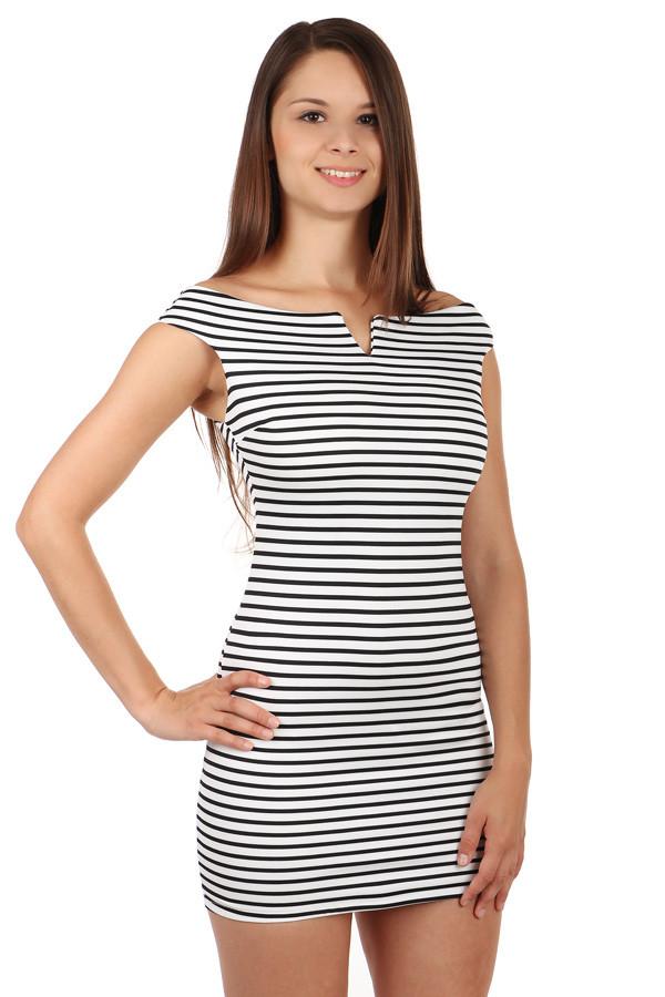 81c7d554fd6 Proužkované mini šaty