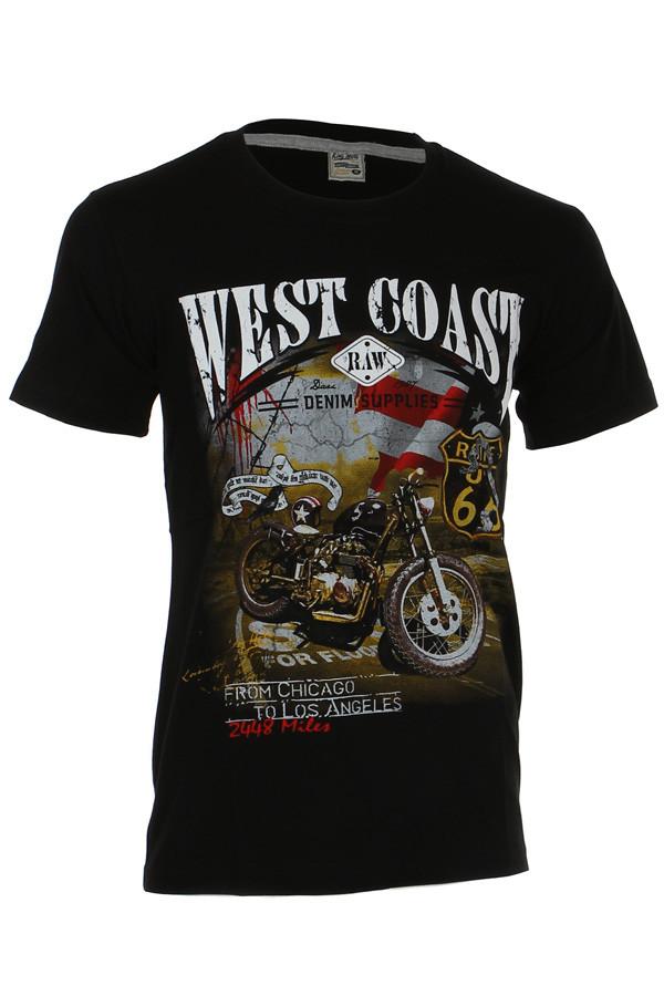 Pánské tričko se stylovým potiskem 92fa6cc505