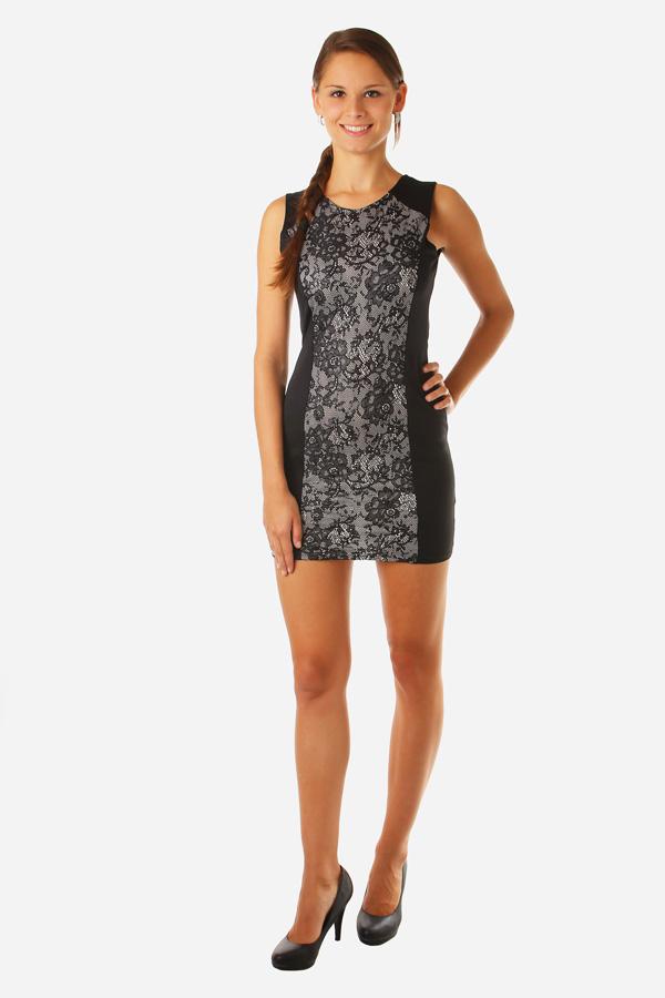 d17c2571737 Dámské elegantní šaty s krajkou