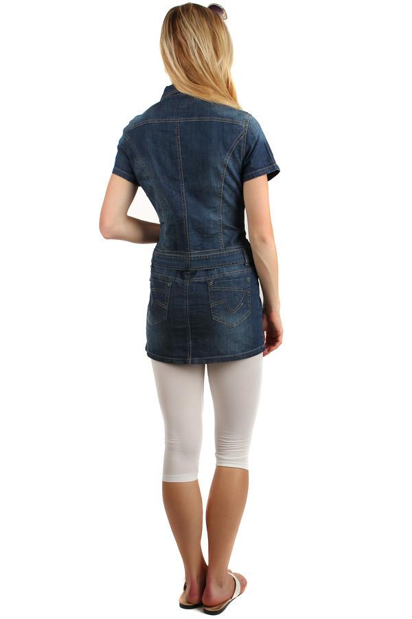 Dámské riflové šaty na knoflíky 5af1d4d0dc7