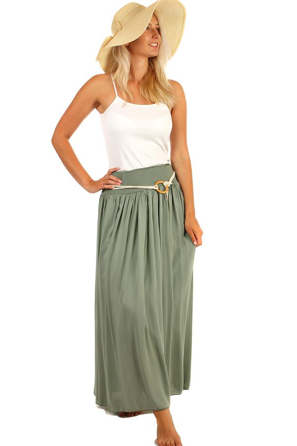 625241ea6fb9 Romantická dámská maxi sukně
