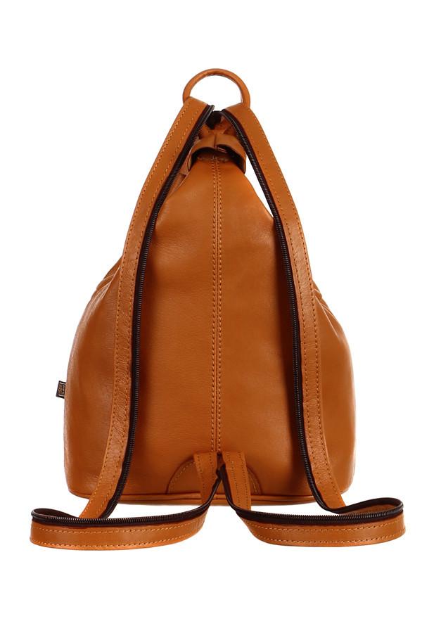 Dámský batoh kabelka 3v1 z pravé kůže na jedno rameno - malý - Česká ... 866efe3acc