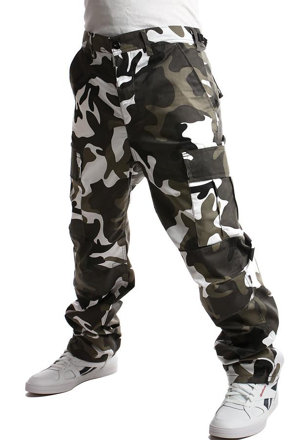 dc612973de52 Pánské maskáčové kalhoty