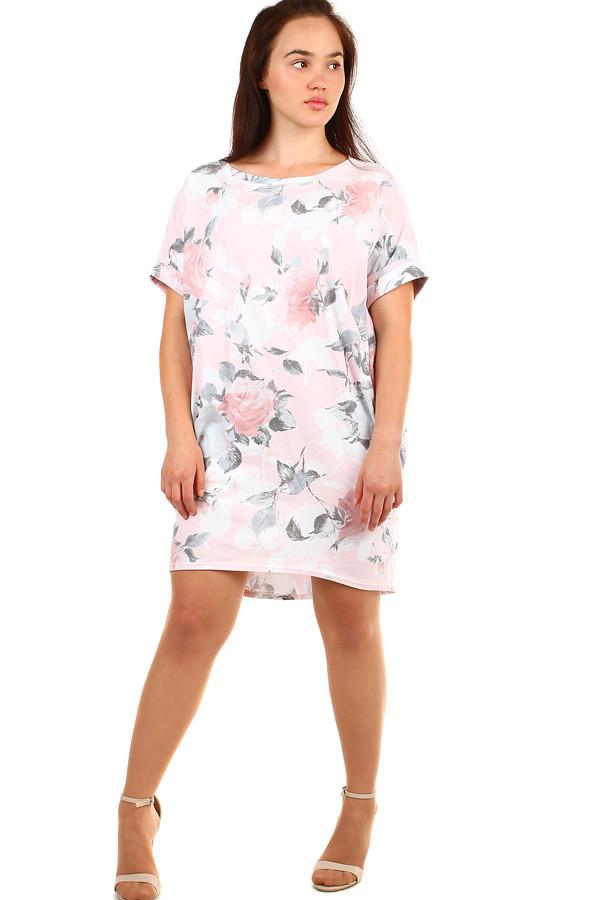 7bd4c0561ea2 Dámské letní volné šaty s květinovým potiskem