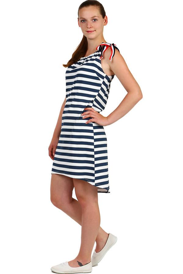 e876e9d7d86 Dámské letní pruhované šaty