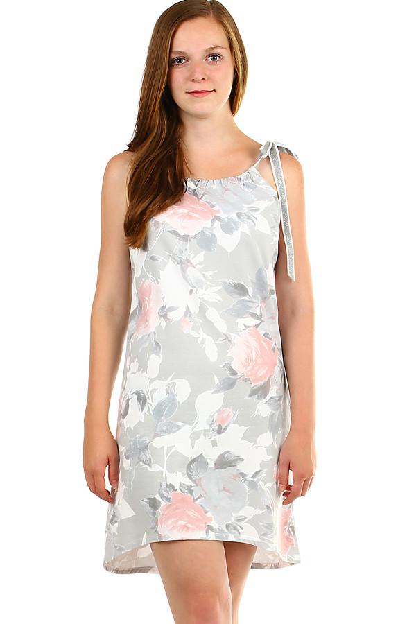 0f79380726a Krátké dámské šaty s potiskem