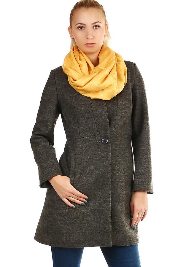 Dámský přechodný áčkový kabát f367e416483