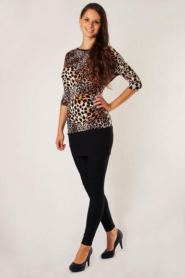 Dámská halenka s leopardím vzorem 019abb71f1