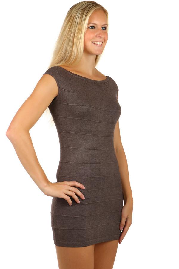 075854b0ad0 Mini úpletové šaty