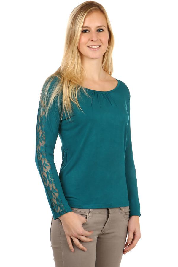 Elegantní dámské tričko s krajkou 3f88f448875